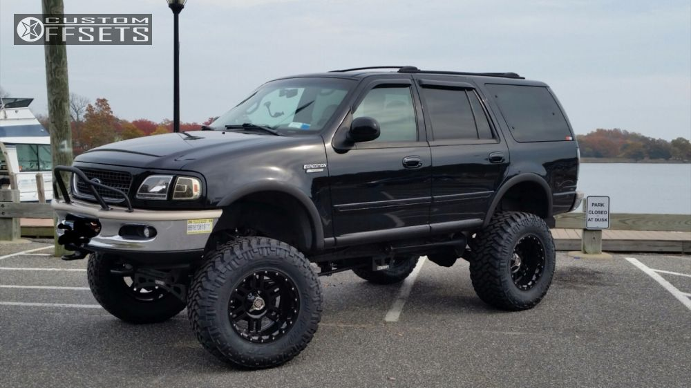 Wheel Offset 1998 Ford Expedition Super Aggressive 3 Lifted 9