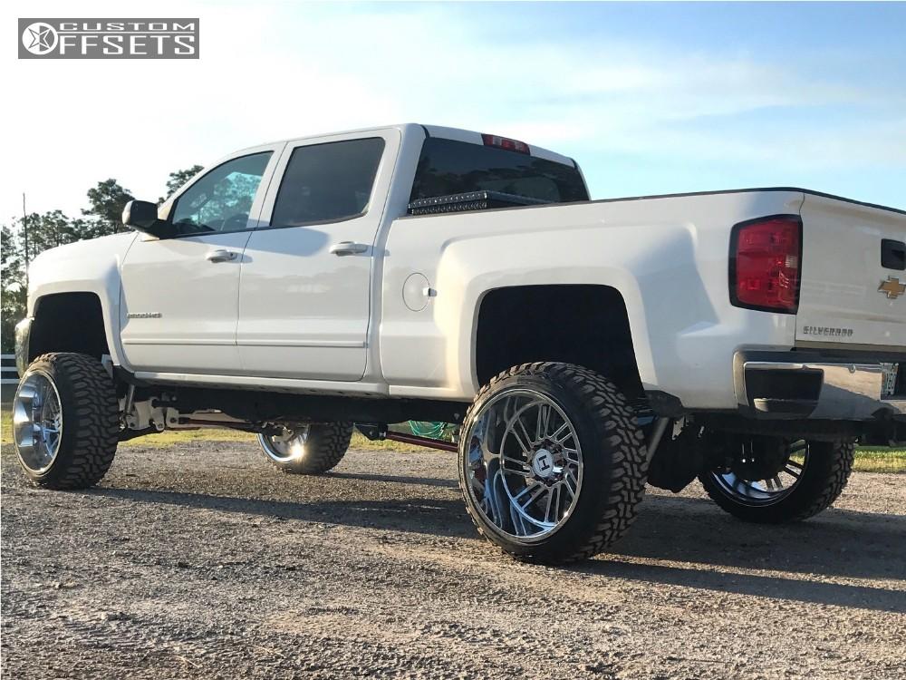 2015 chevrolet silverado 2500 hd hostile stryker rough country suspension lift 75in