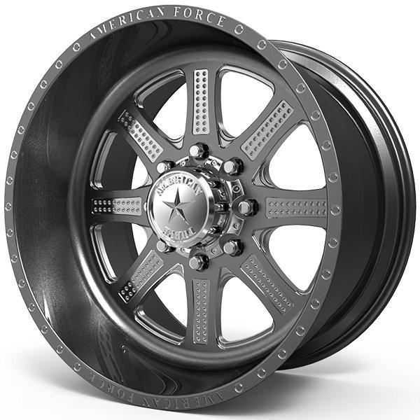2009 Dodge Ram 2500 Fuel Maverick D538 Fabtech Suspension: American Force Code Sf 20x12 40 Custom Wheels
