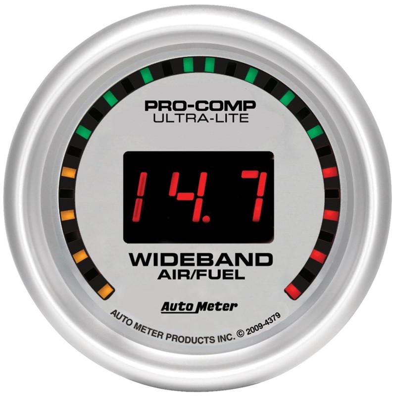 Autometer Ultra-Lite 52mm Digital Wideband Air/Fuel Ratio Street Gauge