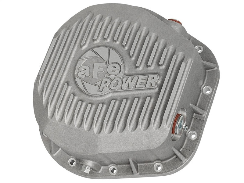aFe Power aFe Rear Differential Cover, Raw Finish; Street Series (94-20 Ford F-250/F-350/Excursion | V8 6.0L/6.2L/6.4L/6.9L/7.3L)