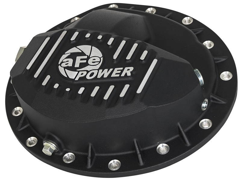 aFe Power aFe Pro Series Front Differential Cover - Machined Fins (03-12 Dodge/Ram 2500/3500 | L6 5.9L/6.7L)