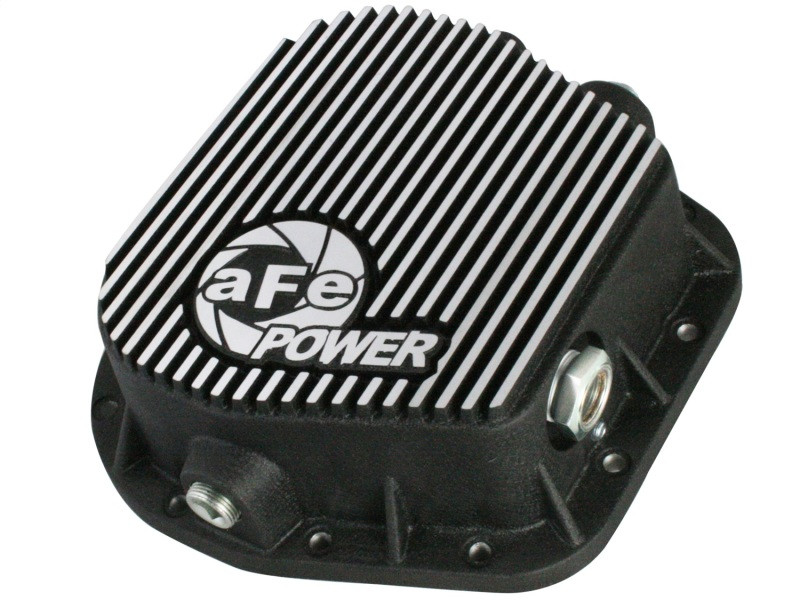 aFe Power aFe Rear Differential Cover, Machined Fins; Pro Series (97-20 Ford F150 | V6 2.7L/3.0L/3.5L/3.7L/4.2L | V8 4.6L/5.0L | 10-14, 17-20 Raptor | V6 3.5L & V8 6.2L)