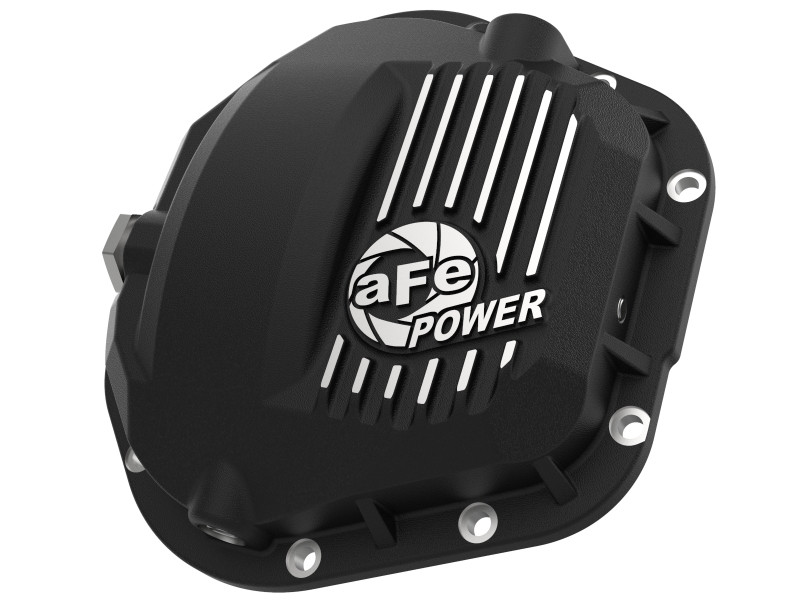 aFe Power aFe Pro Series Front Differential Cover - Machined Fins (17-20 Ford F-250/F-350 | V8 6.2L/6.7L/7.3L)