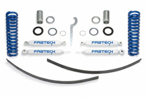 "Fabtech 0-3.5"" Basic Coilover System w/   Rear Performance Shocks - 1995.5-2004 Toyota Tacoma Prerunner (6 Lug) 2WD/4WD"
