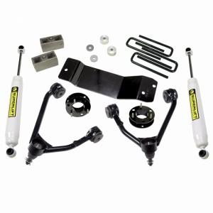 """SUPERLIFT 3.5"""" Lift Kit w/  Superide Rear Shocks- 4WD"""