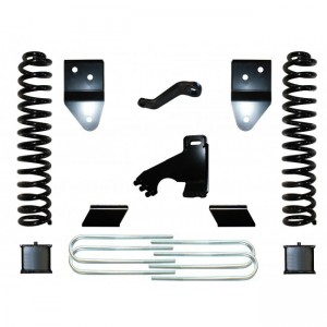 """FTS 2005-2007 Ford F350 4"""" Radius Arm Kit w/   Rear Blocks"""