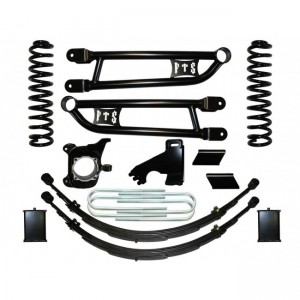 "FTS 2008-2013 Ford F250/F350 10"" Radius Arm Kit w/   Rear Springs & Crossover Steering"