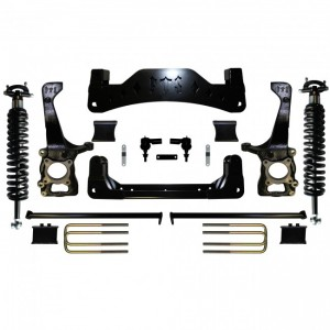 "2009-2013 6"" Ford F150 2WD Kit w/   Coilovers"