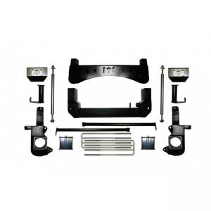 """2001-2010 7"""" Chevy / GMC Silverado / Sierra 1500HD / 2500HD 4WD Dually w/   Rear Blocks"""