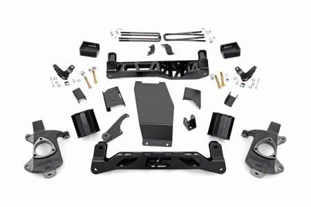 "Rough Country 5"" Suspension Lift Kit (14-17 1500 DENALI PU 4WD W/MAGNERIDE)"