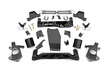 "Rough Country 6"" Suspension Lift Kit -(14-17 1500 DENALI PU 4WD W/MAGNERIDE)"