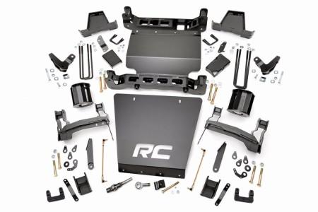 "Rough Country 7"" GM Suspension Lift Kit | Bracket Kit -  (14-16 1500 DENALI PU 4WD W/MAGNERIDE)"