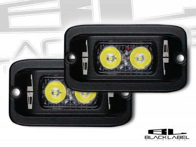 4 inch Black Label Lighting Dual LED Flush Mount Kit