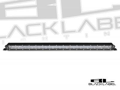 30 Inch Black Label Lighting Single Row LED Light Bar
