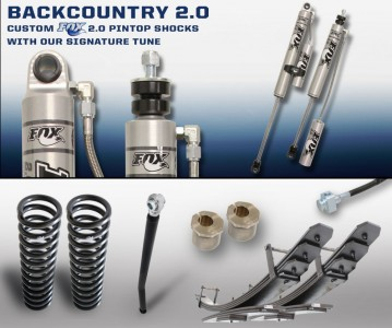"Carli Suspension Carli 2.5"" Diesel Backcountry Leveling System"