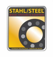 """1"""" STAHL/STEEL adapters (pair-2) 8x170 to 8x200"""