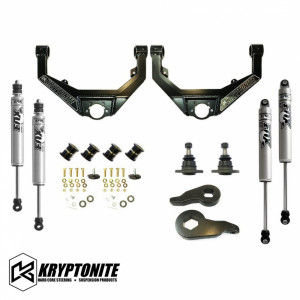 Kryptonite KRYPTONITE STAGE 3 LEVELING KIT WITH FOX SHOCKS
