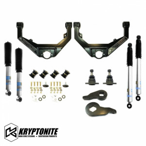 Kryptonite KRYPTONITE STAGE 3 LEVELING KIT WITH BILSTEIN SHOCKS 1999-2010