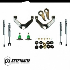 KRYPTONITE STAGE 3 LEVELING KIT W/ FOX SHOCKS 2011+