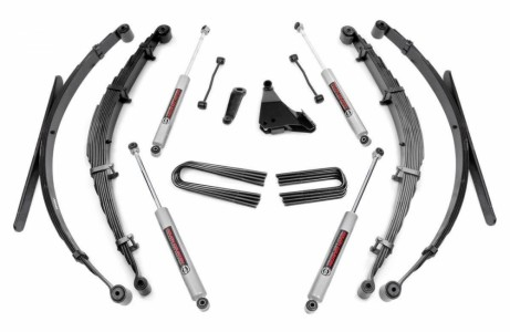 Rough Country 6IN FORD SUSPENSION LIFT SYSTEM