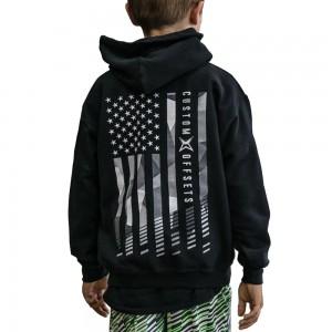 Custom Offsets Childrens Flag Hoodie
