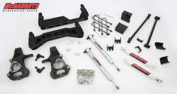 "McGaughys 7"" Basic Lift Kit for 2007-2013 GM Truck 1500 (2WD)"