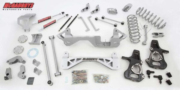"McGaughys 7"" Premium Lift Kit for 2001-2006 GM SUV 1500 (4WD, Not Auto Leveling)"