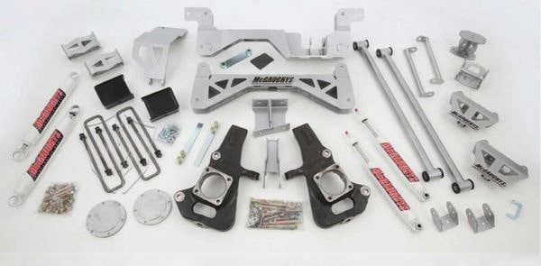 "McGaughys 7"" Premium Lift Kit for 2002-2010 GM 2500 (4WD, Gas Motor)"