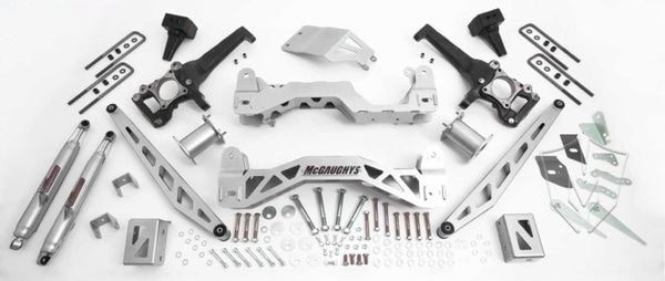 """McGaughys 6.5"""" Premium Lift Kit for 2009-2014 Ford F-150 (2WD)"""