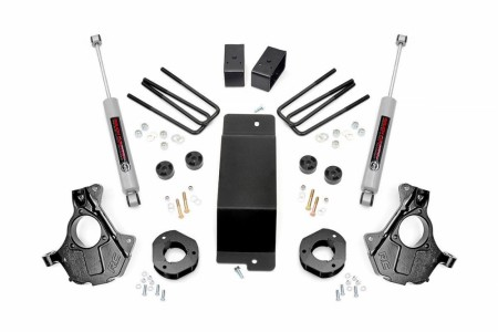 Rough Country 3.5IN GM SUSPENSION LIFT | KNUCKLE KIT (07-13 1500 PU 4WD)