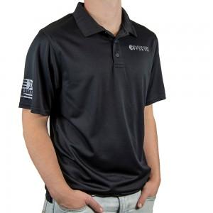 Custom Offsets Black Performance Polo