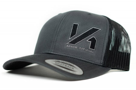 ARKON Retro Charcoal/Black Trucker Snapback