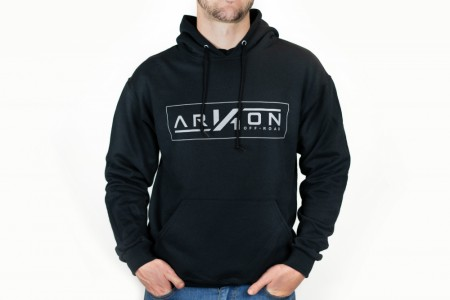 ARKON Black/Grey Logo Hoodie