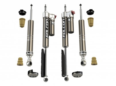 2007+ Toyota Tundra: Falcon Sport Tow/Haul Leveling Shock Absorber System