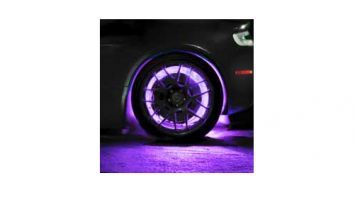 ORACLE LED Illuminated Wheel Rings - UV