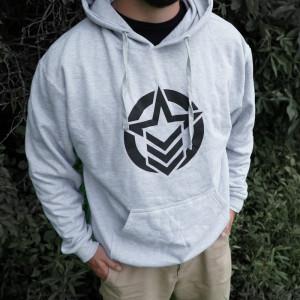 Classic Logo Light Grey Hoodie