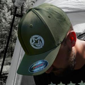 Classic Flexfit Olive Green Hat