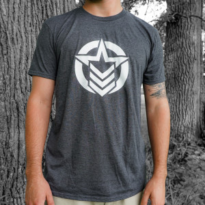 Classic Logo Heather Grey Shirt