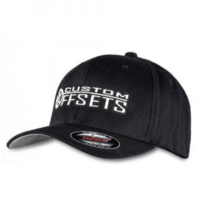 Custom Offsets Black Flex Fit Hat