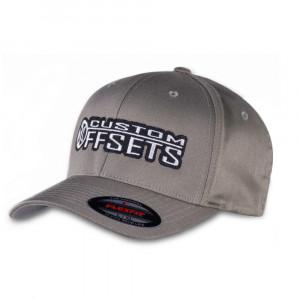 Custom Offsets Grey Flex Fit Hat