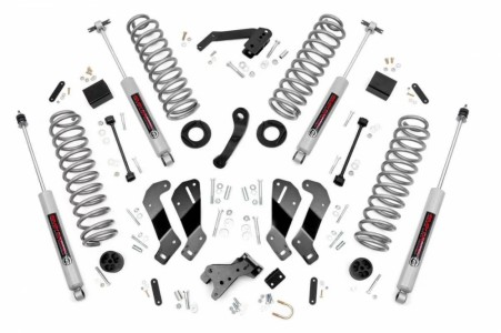 Rough Country 3.5in Jeep Suspension Lift Kit | Control Arm Drop (07-18 Wrangler JK Unlimited)