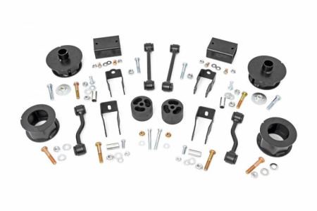 Rough Country 2.5in Jeep Suspension Lift Kit (18-21 Wrangler JL)
