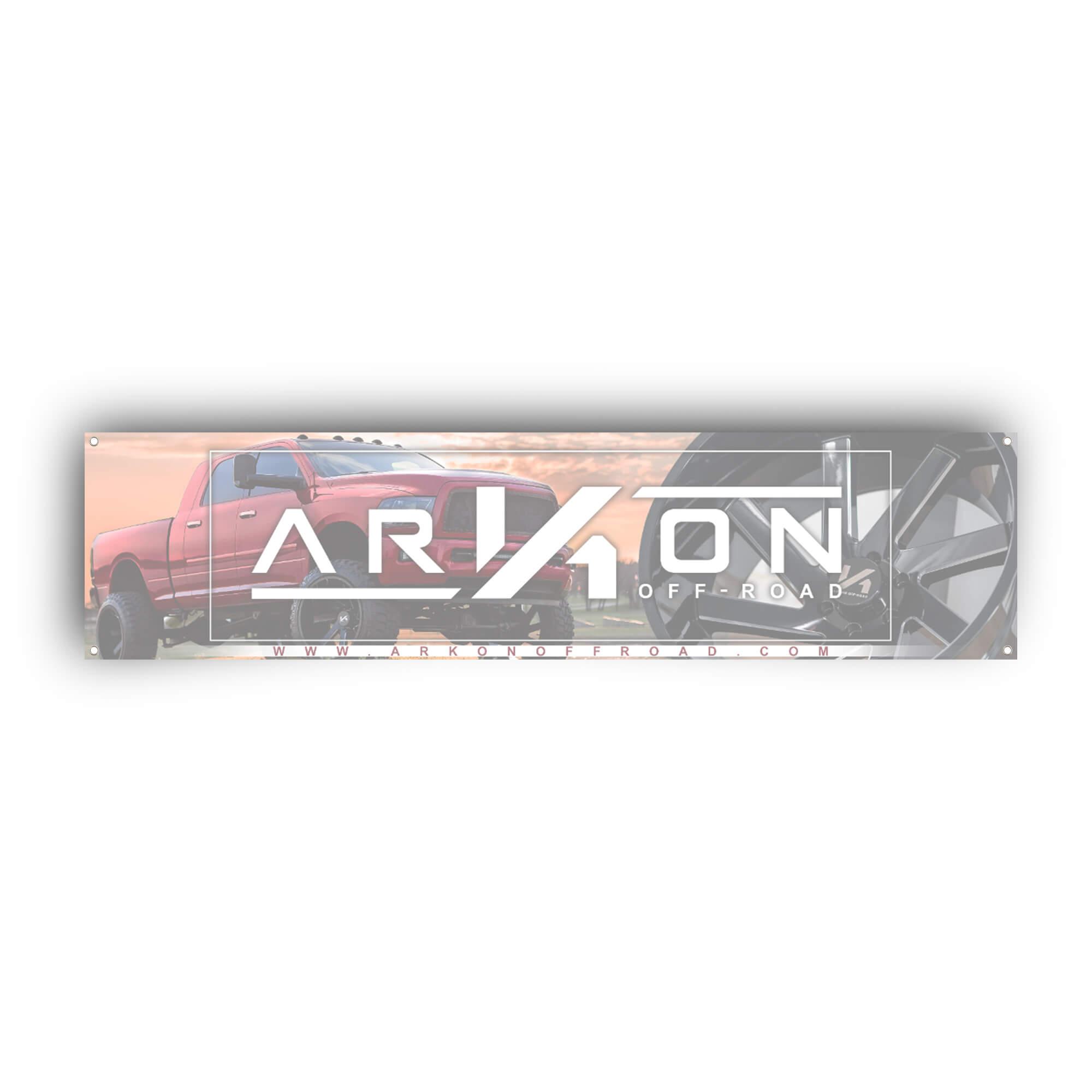 ARKON OFF-ROAD 2\'x8\' Banner