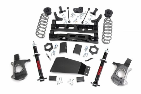 "Rough Country 7.5"" GM Suspension Lift Kit - w/   Premium N2.0 Lift Struts Yukon/Tahoe"