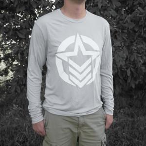 Classic Logo Grey Long sleeve