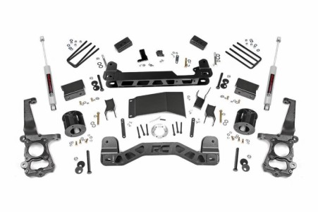 "Rough Country 4"" Ford Suspension Lift Kit"