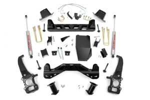 Rough Country 6IN FORD SUSPENSION LIFT KIT- NO STRUTS & Performance 2.2