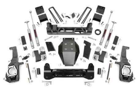 "Rough Country 7.5"" GM NTD Suspension Lift Kit"