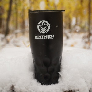 Anthem Off-Road Black 30oz. Stainless Steel Tumbler